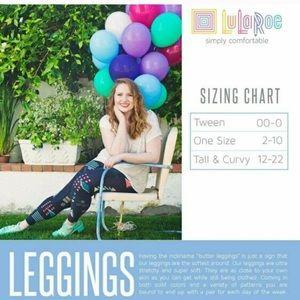 🌈LuLaRoe Sz OS Leggings!!