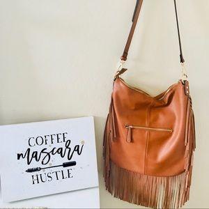 Fringe hobo bag from Francesca's