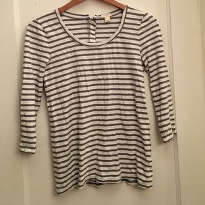 perfect 3/4 sleeve layering t