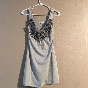 Grey BCBGeneration Size M Mini Dress