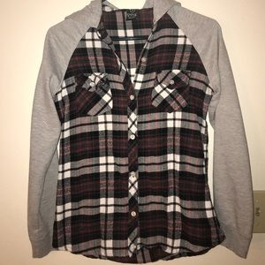Hooded Empyre Flannel