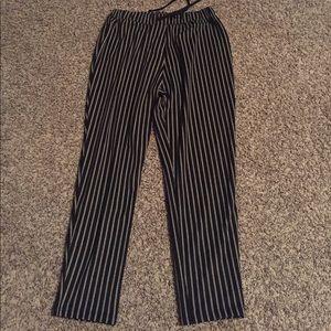 BNWT Zara pinstripe pants