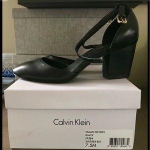 Super cute black Calvin Klein Mary Janes