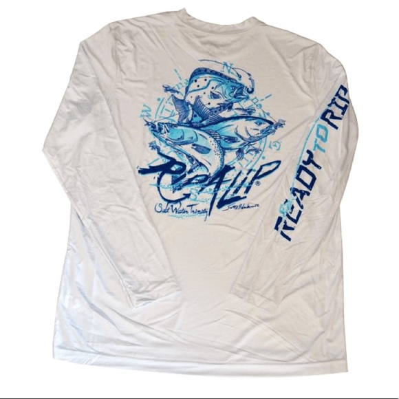 17e30c3d Rip A Lip Shirts   Nwt Saltwater Trinity Performance   Poshmark