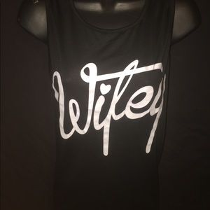Wifey muscle t shirt