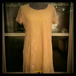 Uncle Frank Crochet Tunic Dress