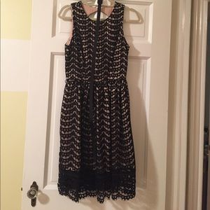 Black lace Eliza J Dress