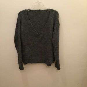 Brandy Melville Gray Knit Sweater