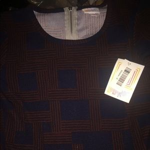 LuLaRoe Medium Amelia Dress NWT
