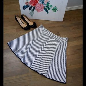 Pixley fit and flare skirt