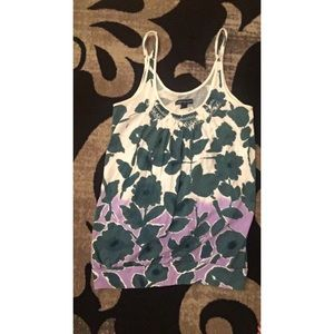 Floral American Eagle tank top
