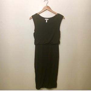 Leith Olive Green Dress XS