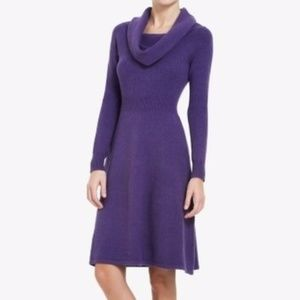 BCBG MaxAzria Nellie Cowl Neck Sweater Dress  M