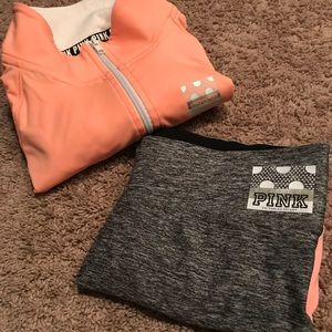 VS ultimate outfit size Small top and Medium yoga