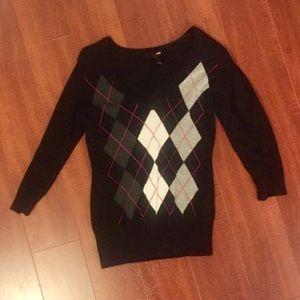 H&M 3/4 sleeved light sweater