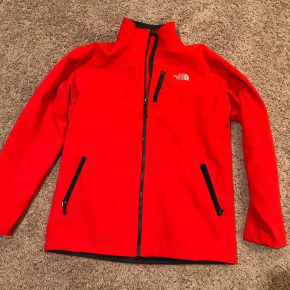 the north face jackets coats north face apex bionic jacket boys rh poshmark com