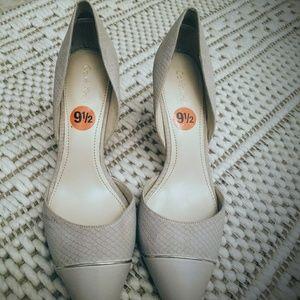 Calvin Klein Nude heels size 9 1/2