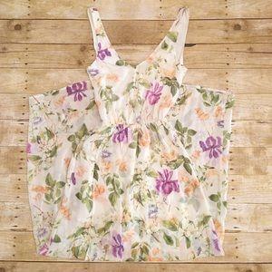 Show Me Your MuMu Kendall Maxi floral dress small