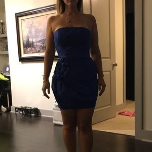 Gorgeous blue dress-perfect for holidays