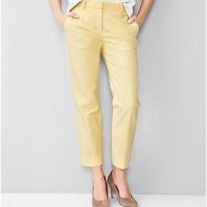 GAP tailored crop pants. Size8R