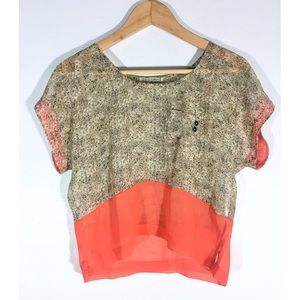Urban Outfitters Airy Chiffon Blouse
