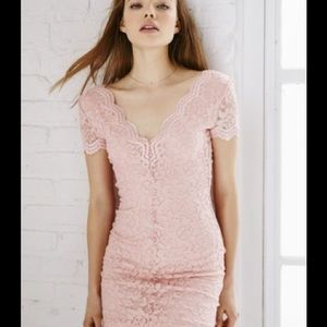 Elegant and fun lace dress.