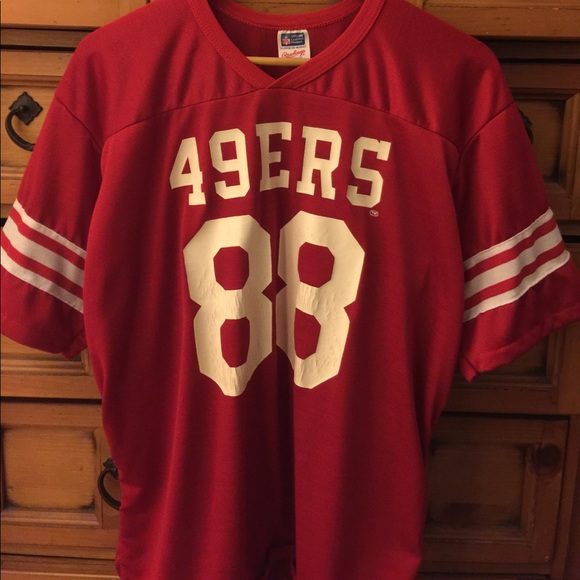 cheap for discount 15b8c fe25b VINTAGE 49ERS JERSEY