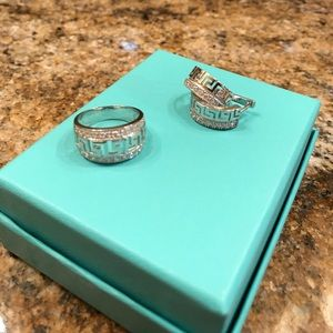 ❤️Sterling silver ring and earrings set❤️