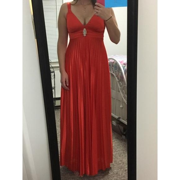 Deb Dresses Orange S Formal Dress Poshmark