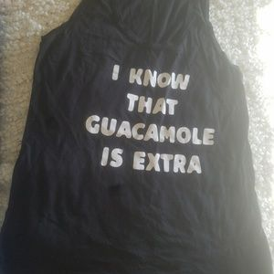 I know that guacamole is extra