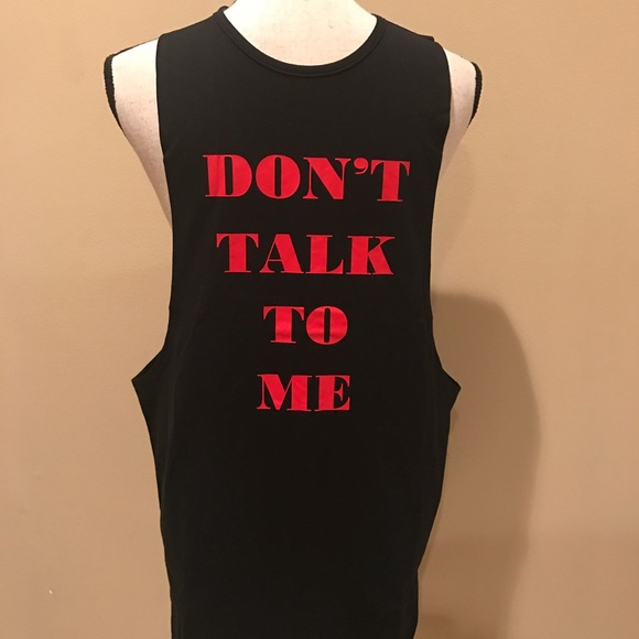 09a1d83b6d324e Funny Men s Work Out Gym Tank Sideless Slinger NWT