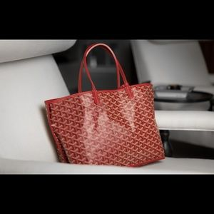 NEW Goyard St. Louis PM in Red