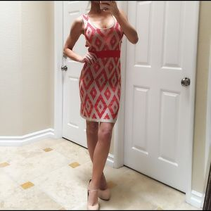Cutout Back Midi Dress
