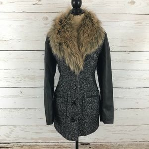 Edgy Winter Jacket With Faux Fur!