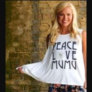 Peace Love Mumu Top