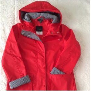 TOPSHOP Utility Rain Coat Jacket 6