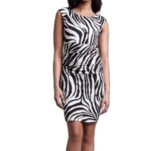 Bailey 44 Anthropologie Zebra Print Jersey Dress