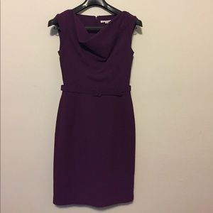 Banana Republic Cowl Neck Work Dress