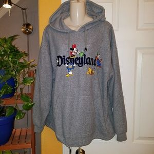 Disney Disneyland Oversize Fleece Pullover Hoodie