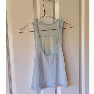 American Eagle Outfitters. Blue Happy Hour Tank