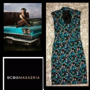 🦋BCBG MaxAzaria•The Blues Dress