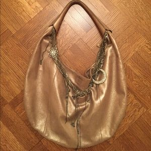 Juicy Couture Metallic Lady Couture Hobo Bag