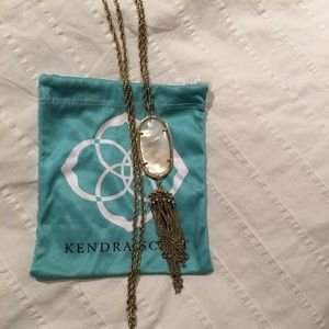 Kendra Scott Rayne Necklace in Ivory Pearl