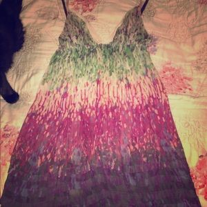 Sparkle & fade sheer dress