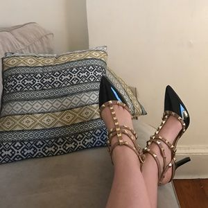 BCBG studded heels