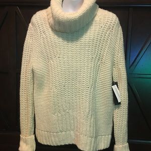 Cowl turtle neck knit Banana Republic Sweater