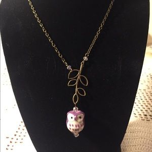4/$15!!! Owl necklace