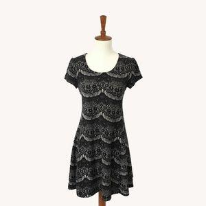 Lace Print Dress