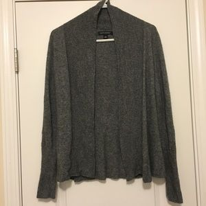 Banana Republic Dark Gray Wool Cardigan