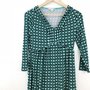 Boden Jersey Knit Printed Dress